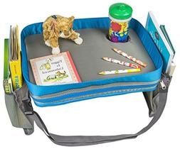 Kids Travel Activity & Snack Tray by On The Go Families - He