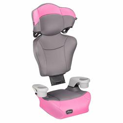 Evenflo Big Kid High Back Booster Car Seat - Pink Dove