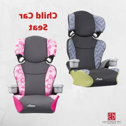 BOOSTER CAR SEAT, Safety Travel Toddler Kids Chair Highback