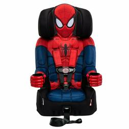 Car Seat Booster Spiderman Safety Harness Belt Recliner for