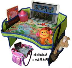 Kids Travel Play Tray-Perfect Car Seat Travel Tray and Acces