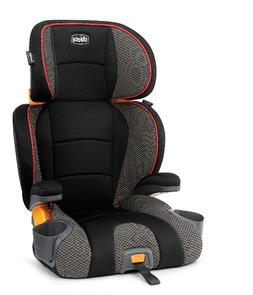 KidFit 2-in-1 Belt Positioning Booster High Back Car Seat in