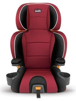 Chicco KidFit 2-in-1 Belt-Positioning Booster Car Seat, Papr