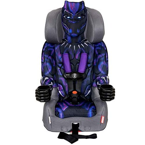 KidsEmbrace 2-in-1 Harness Booster Car Seat, Marvel Black Pa