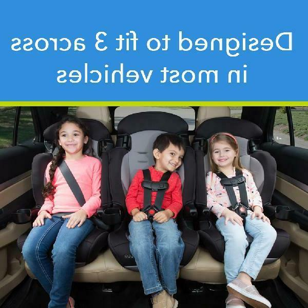 2-in-1 Booster Car Seat with 5 Point Safety Harness