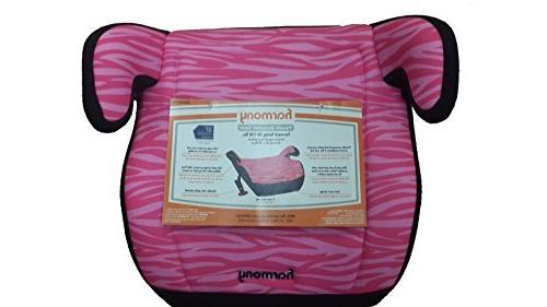 Harmony - Juvenile Youth Booster Car Seat, Pink Zebra