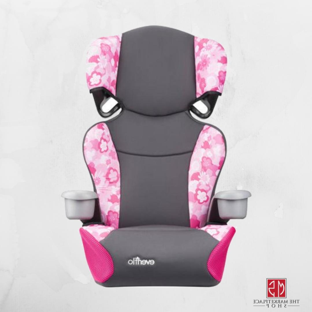 BOOSTER CAR SEAT, Travel Kids Chair Highback 2-in-1