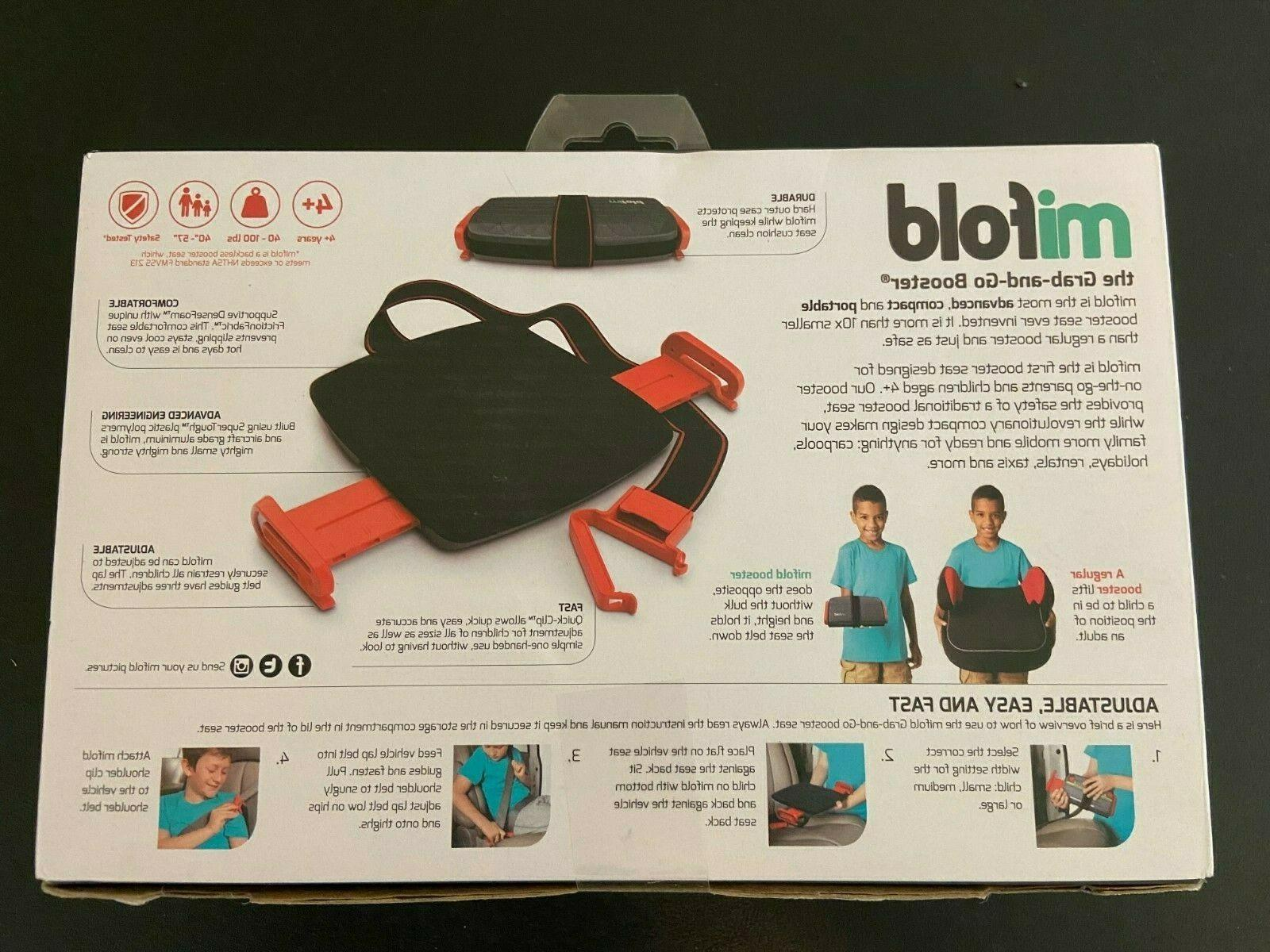 Mifold grab-and-go Car Seat, Compact and