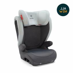 Diono Monterey 4DXT LATCH Booster Car Seat in Grey Light Fre