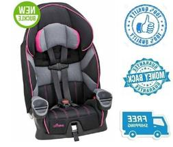 New Pink Maestro Harness Booster Gray Car Seat Toddler Girl