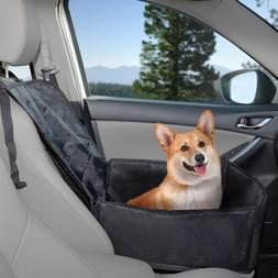 Pet Car Cover Dog Booster Seat Backseat Liner Strap to Headr