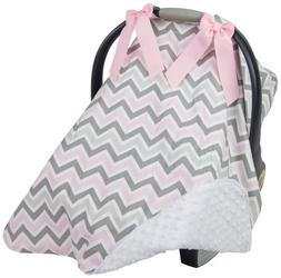 Caught Ya Lookin S316-334-103-R5 Car Seat Cover44; Gray & Pi