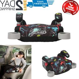 TurboBooster Backless Booster Car Seat, Dinorama Multicolor